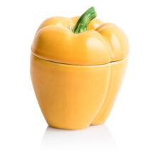 """Емкость с крышкой Bordallo Pinheiro """"Перец"""" 12,5см, желтый"""