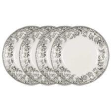 """Набор из 4 тарелок закусочных 20см """"Деламер, сельские мотивы"""""""