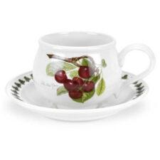 "Чашка для завтрака с блюдцем Portmeirion ""Помона.Вишня"" 270мл"