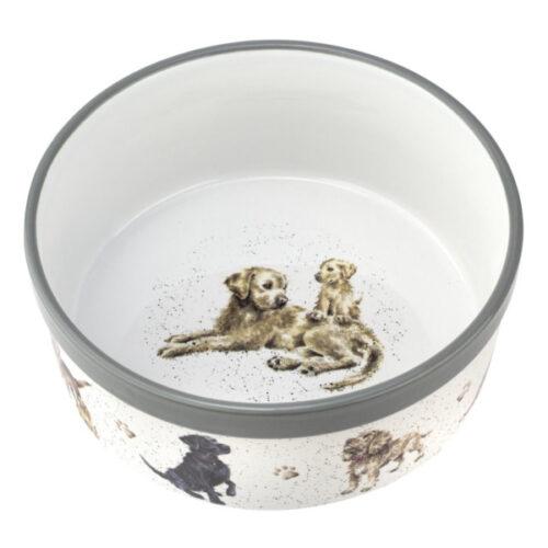 "Миска для собаки Royal Worcester ""Забавная фауна"" 20см"