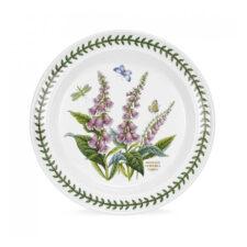 """Тарелка обеденная Portmeirion """"Ботанический сад.Наперстянка"""" 25см"""