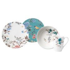 """Сервиз чайно-столовый Lenox """"Цветущая лоза"""" на 4 персоны 16 предметов, п/к"""