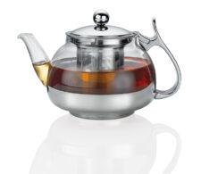 Чайник заварочный с ситечком, 1200 мл, стекло Kuchenprofi