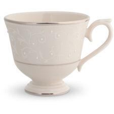 """Чашка чайно-кофейная Lenox """"Чистый жемчуг"""" 180мл"""