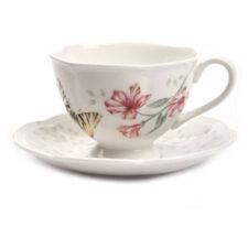 "Чашка чайная с блюдцем Lenox ""Бабочки на лугу.Бабочка-Парус"" 240мл"