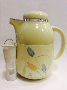 """Термос 1 литр со стеклянной колбой """"Тюльпан"""" Japonica (Япония)"""