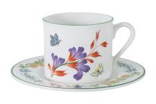 Чашка с блюдцем Летняя сказка 0,2л, керамика, в подарочной упаковке
