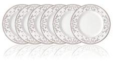 Набор тарелок акцентных Lenox Чистый опал, платина 23см, фарфор. 6шт