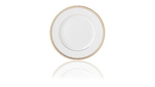 Тарелка обеденная Lenox Золотые кружева 27см, фарфор