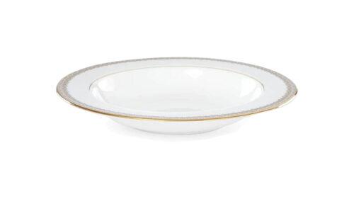 Набор тарелок суповых Lenox Золотые кружева 23см, фарфор, 6шт