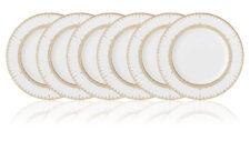 Набор тарелок акцентных Lenox Золотые кружева 23см, фарфор, 6шт