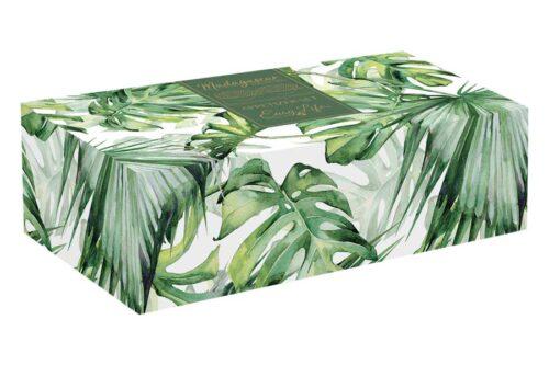 Набор из 2-х салатников на подставке из бамбука Мадагаскар в подарочной упаковке