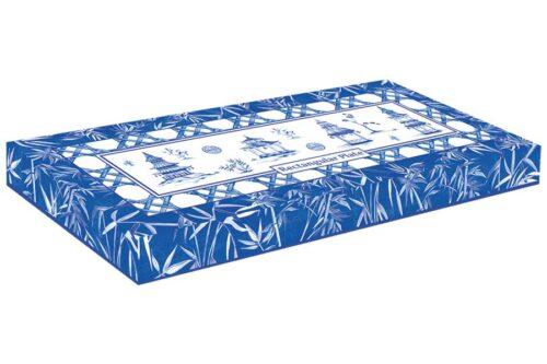 Блюдо прямоугольное Пагода в подарочной упаковке
