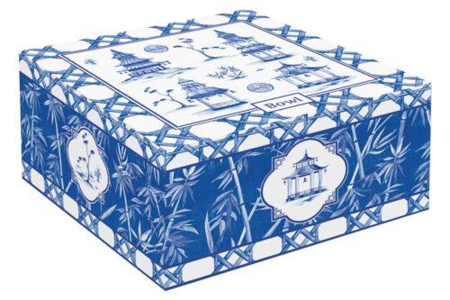 Салатник (бамбук) Пагода в подарочной упаковке