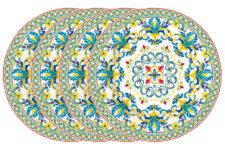 Набор закусочных тарелок Средиземноморье, 19 см, 4 шт